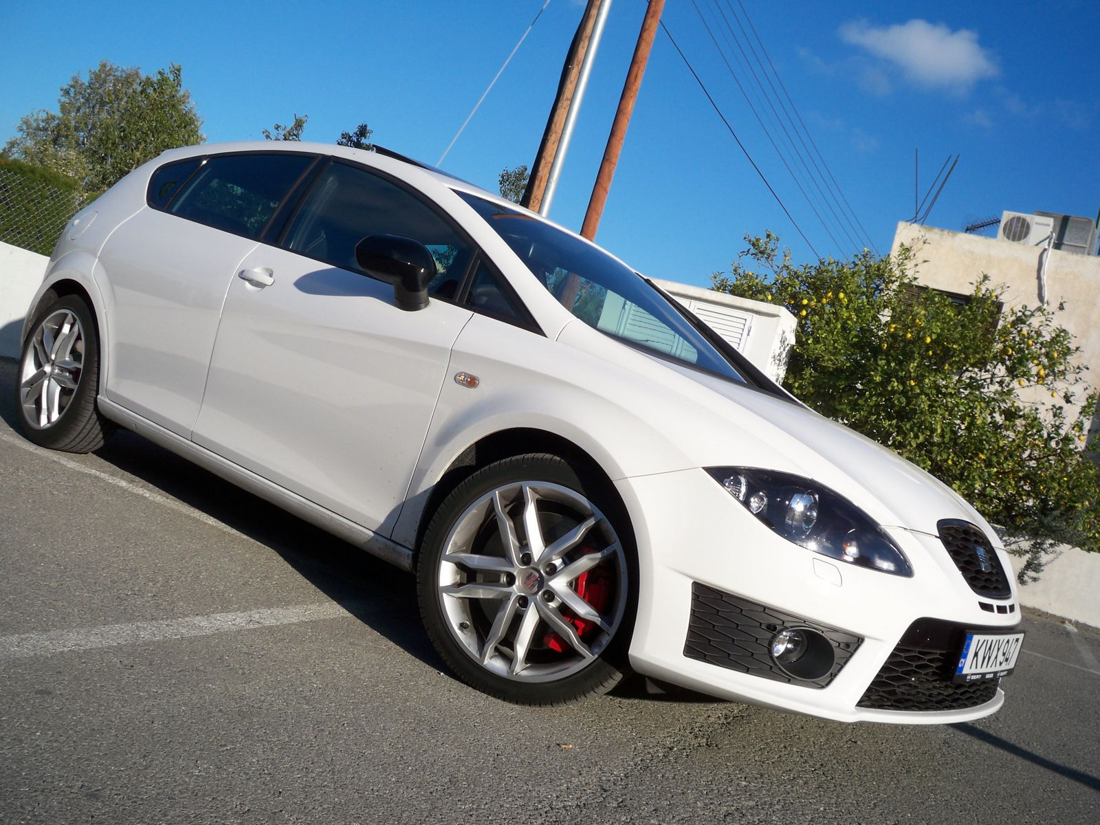 seat leon cupra mk2 1p facelift 2009 cyprus seat leon. Black Bedroom Furniture Sets. Home Design Ideas