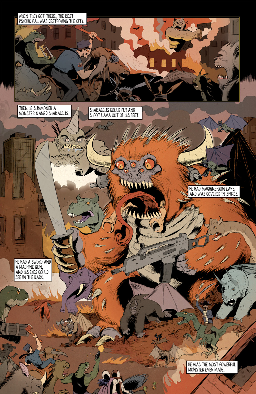 Read online Axe Cop: Bad Guy Earth comic -  Issue #3 - 6