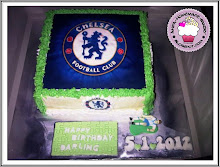 Chelsea Fan Cake Football Theme