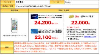 iPhone下取りプログラムよりソフマップのiPhone買取システム