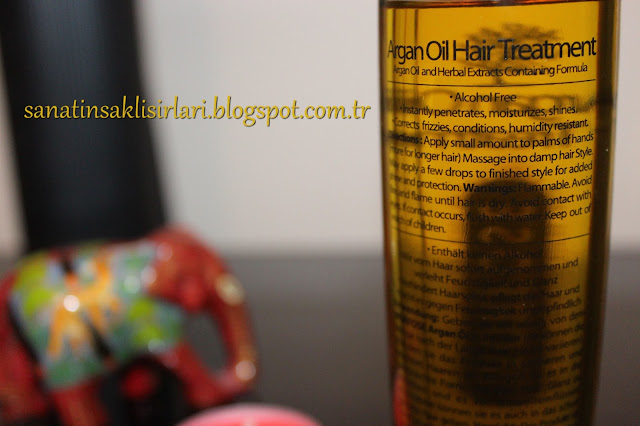 Morfose Argan Oil Hair Treatment / Argan Yağı Saç Tedavisi