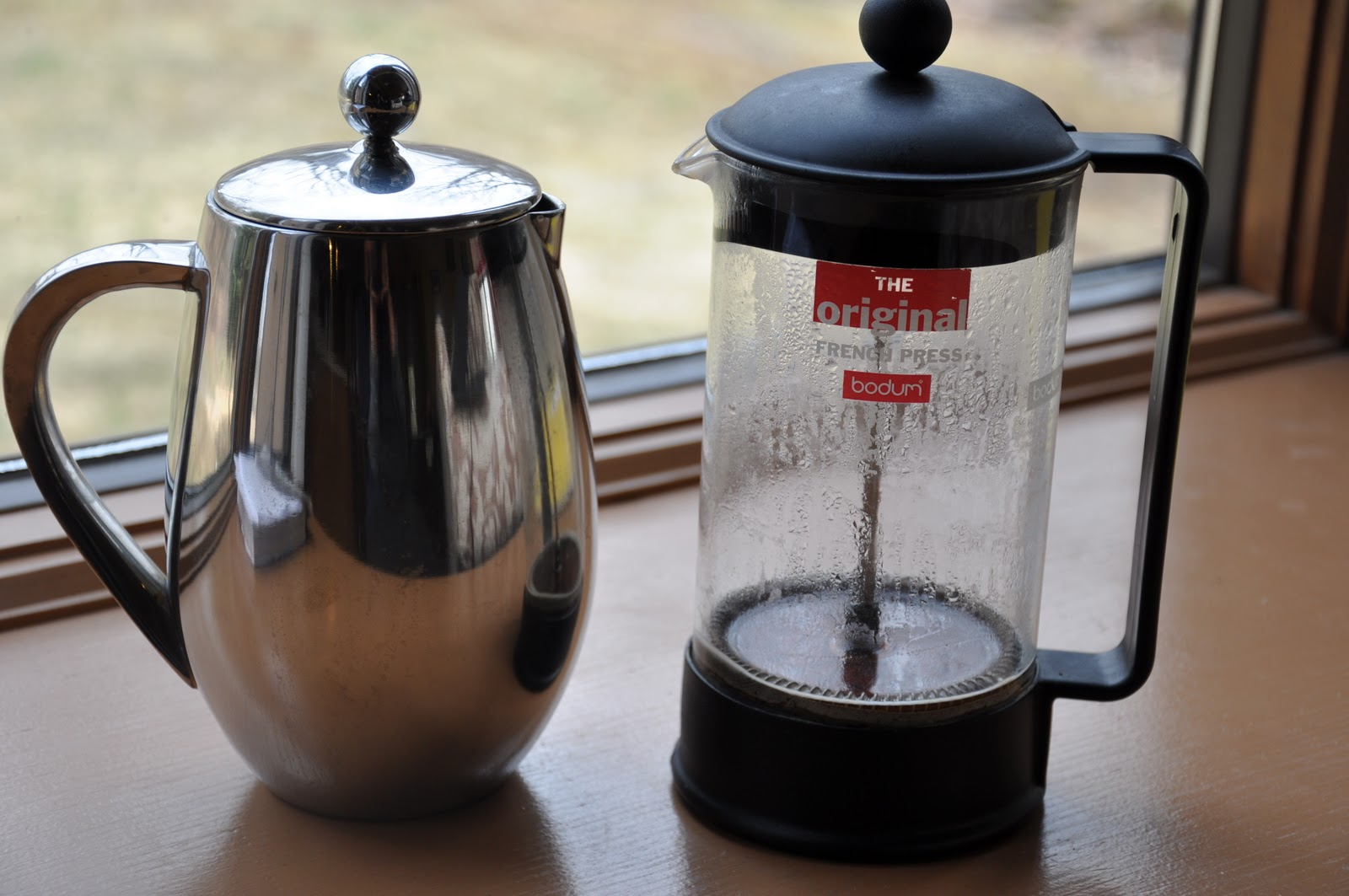 %name Stainless Steel French Press Coffee Pot