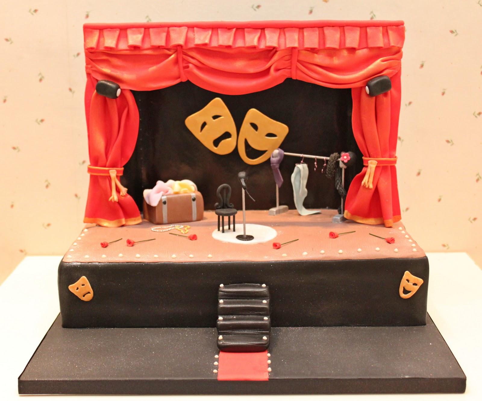 Atelier sucr me pastel escenario de teatro for Kit da 3 bay