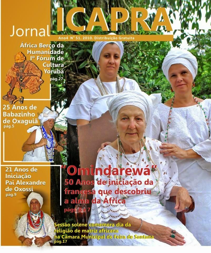 de Omindarewá e sua dedicação as religiões de matrizes africanas