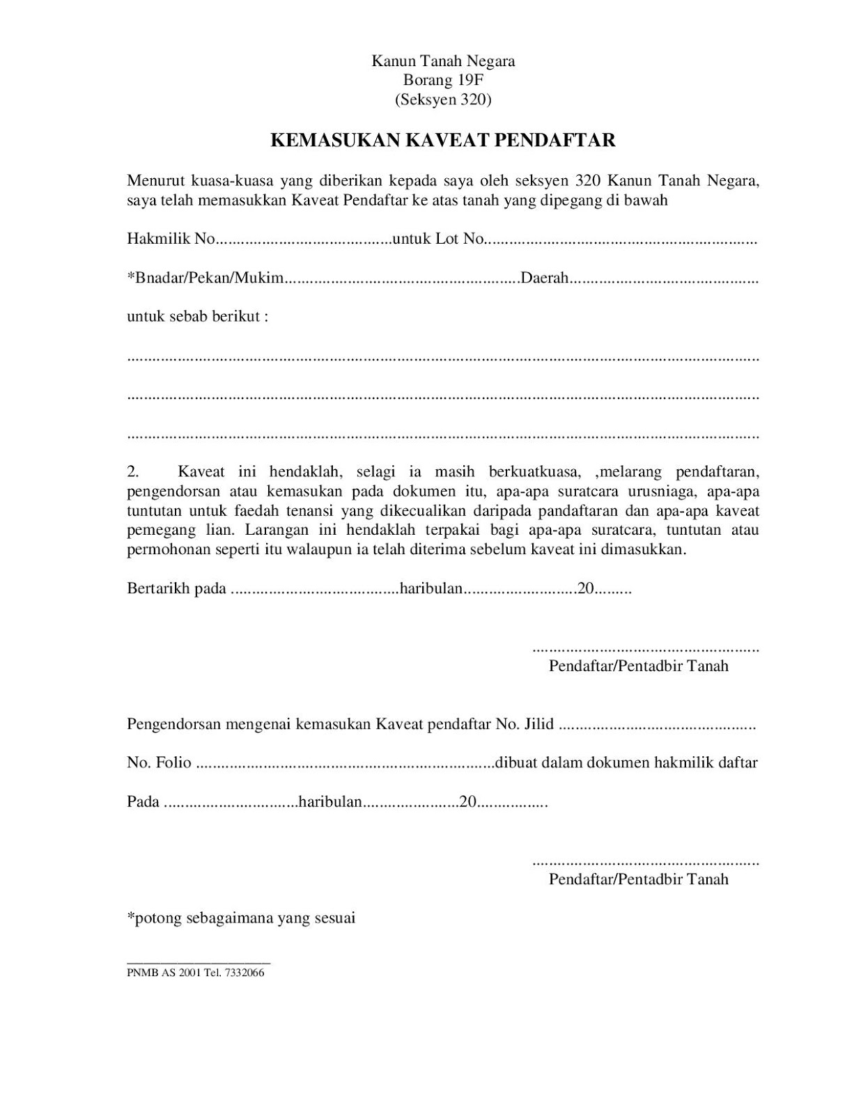 Info Kaveat December 2015