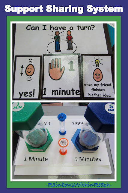 Photo of: Sharing Toys: timers to reinforce the concept of sharing 