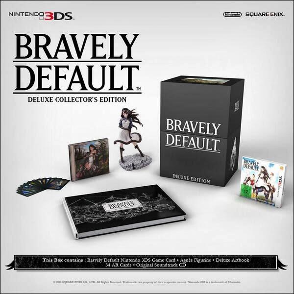 Bravely Defaut, Square Enix, Actu Jeux Video, Jeux Vidéo, Nintendo 3DS, Nintendo,