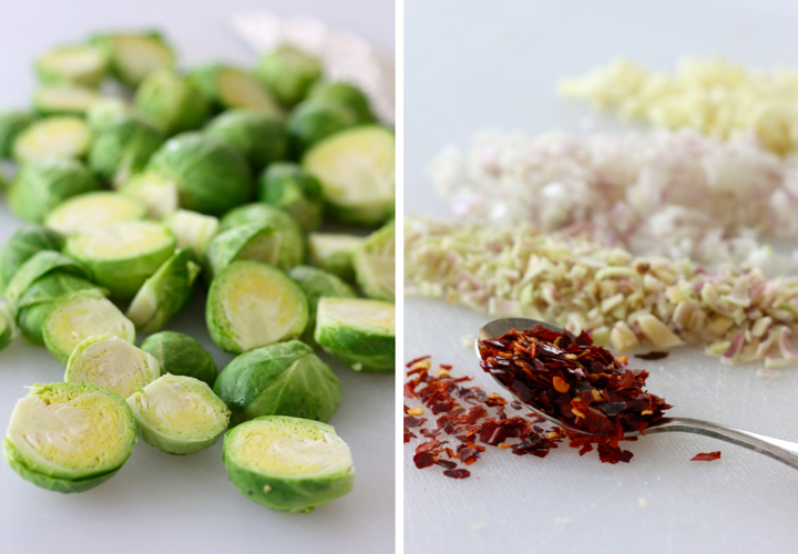 Brussels Sprouts and spices