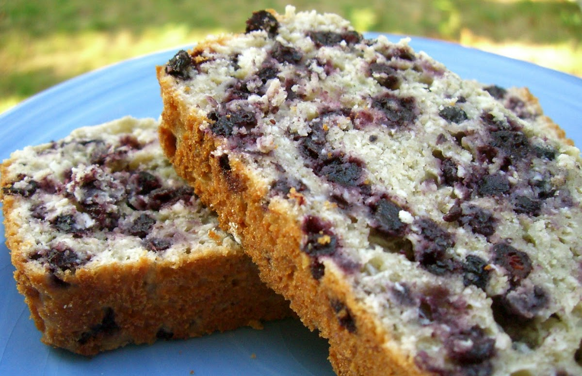 Blueberry Surprise Bread