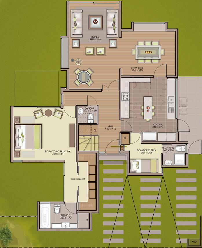 Planos de casas modelos y dise os de casas planos de for Casa moderna mediterranea