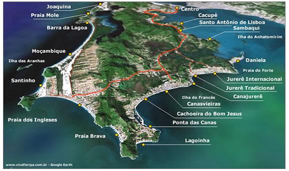 Alojamiento En Brasil Mapa