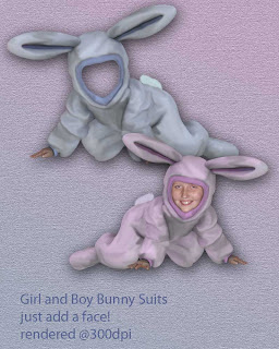 preview Free Bunny Suit PNG Images Pt1