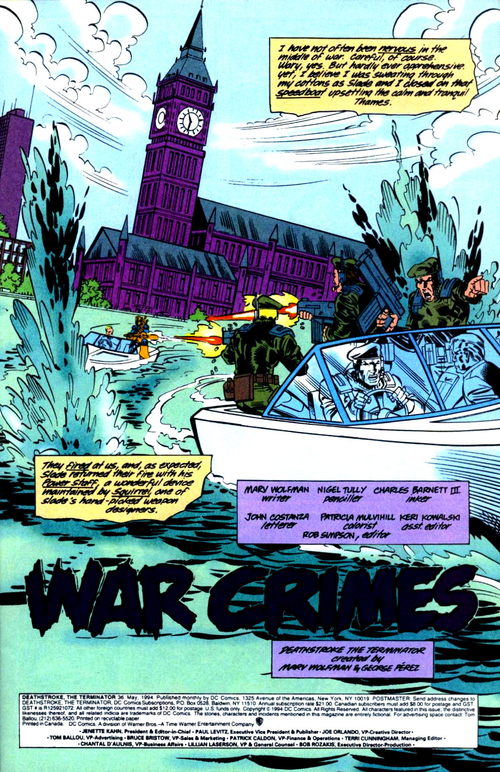 Deathstroke (1991) Issue #36 #41 - English 2
