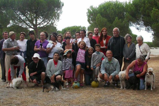Piquenique de família e amigos de Caluquembe