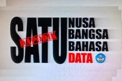 """Semua sudah mengacu ke Dapodik. Tidak ada data lain sekaya data Dapodik,""."