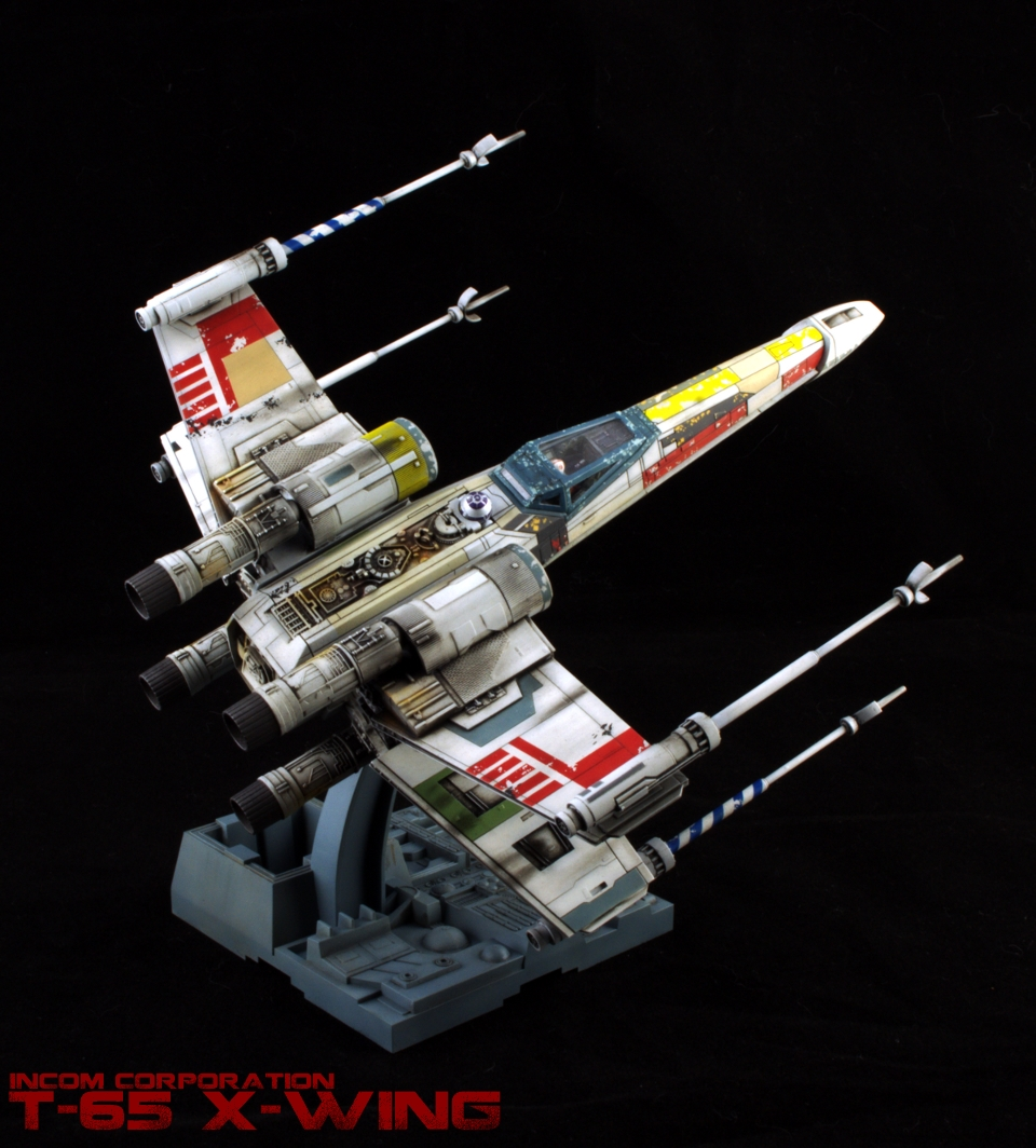 Orion Paintworks: Build Review: Bandai 1/72 X-wing