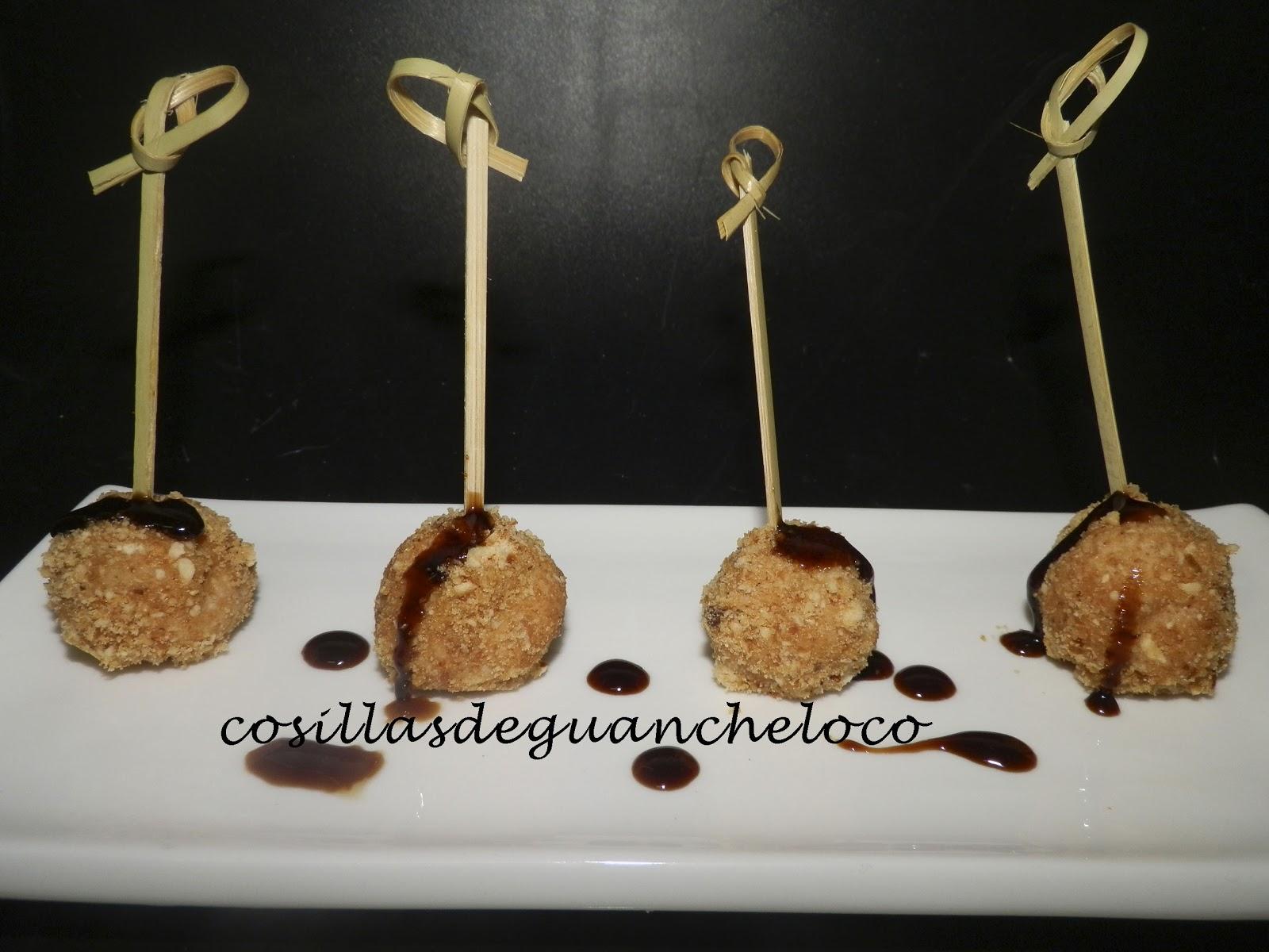 Cocinar Foie | Aprendiendo A Cocinar Cosillas De Guancheloco Bolitas De Foie