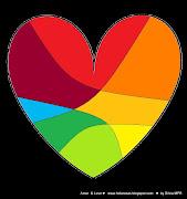 Imagen de corazones 1. corazones en colores para creacion de dibujo con . amor abcdfghi