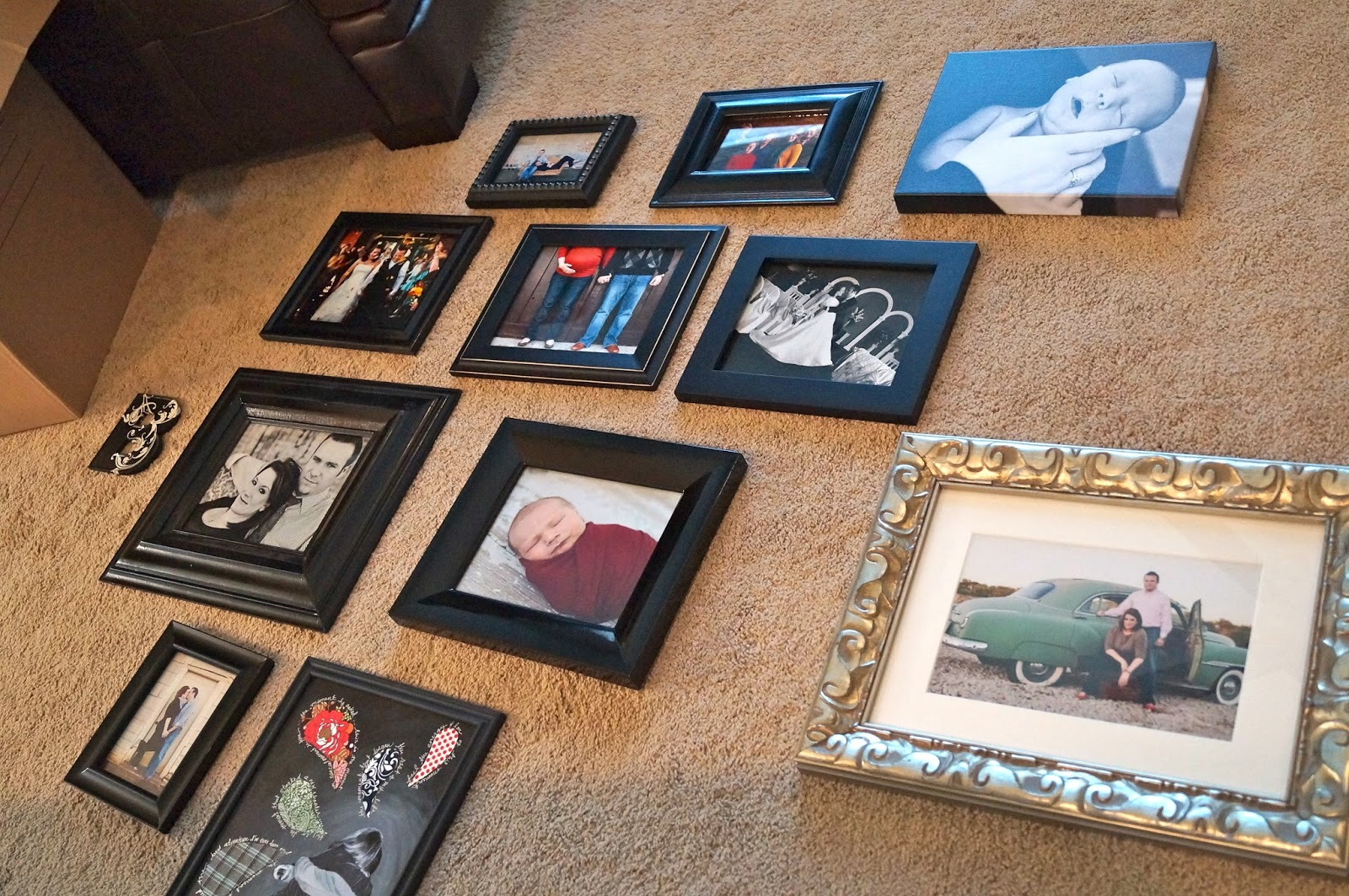 How To Hang A Frame Collage