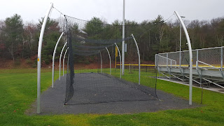 new batting cage among the new athletic fields ar FHS