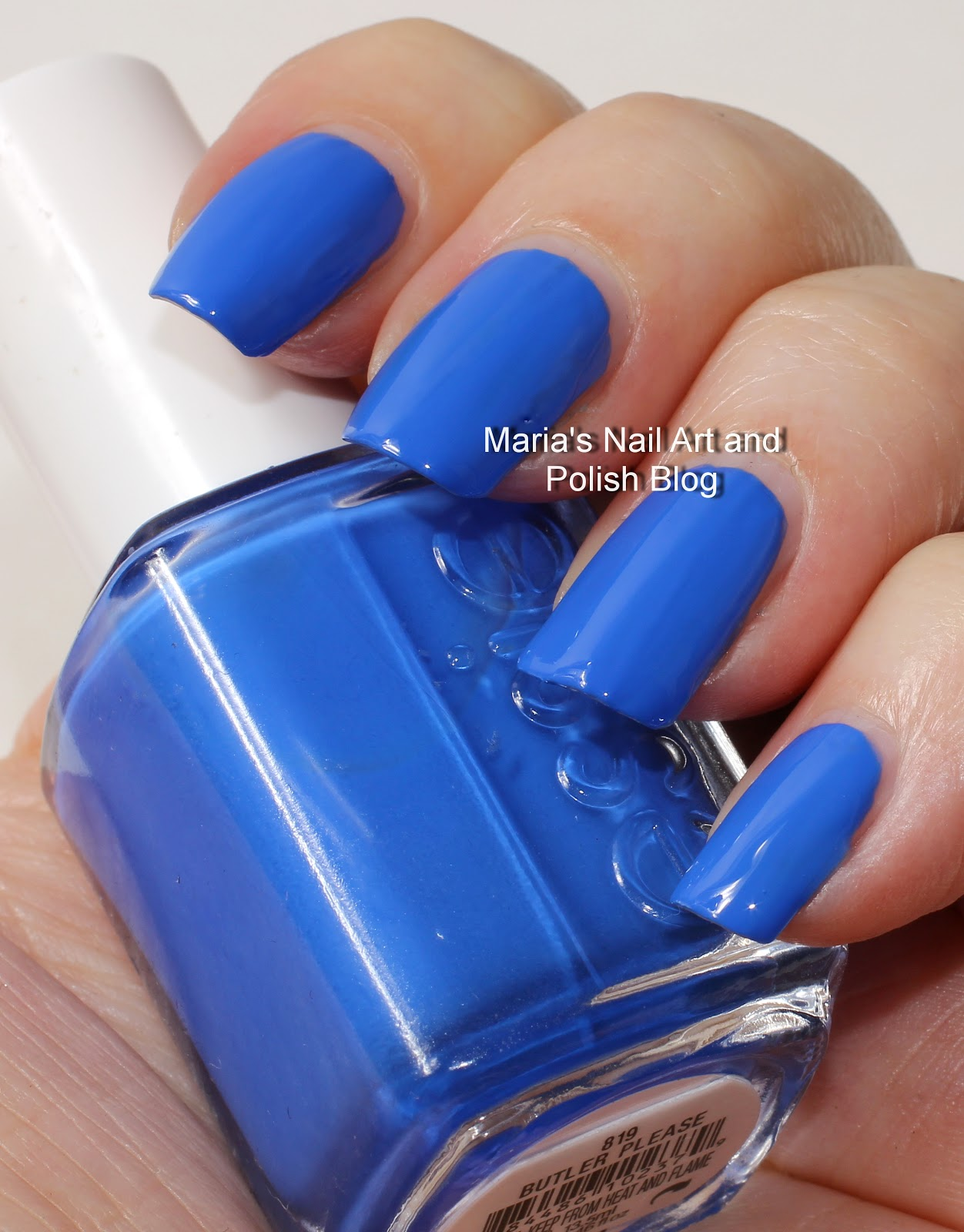 Marias Nail Art and Polish Blog: Essie swatches: Butler Please and ...