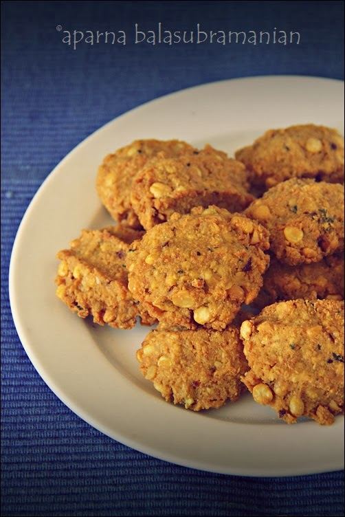 My Diverse Kitchen: Parippu Vadai/ Aama Vadai (Spicy Lentil Fritters ...