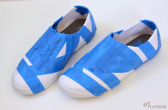 DIY shoe tutorial