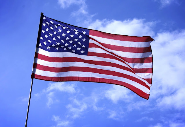 Image of a United States flag.
