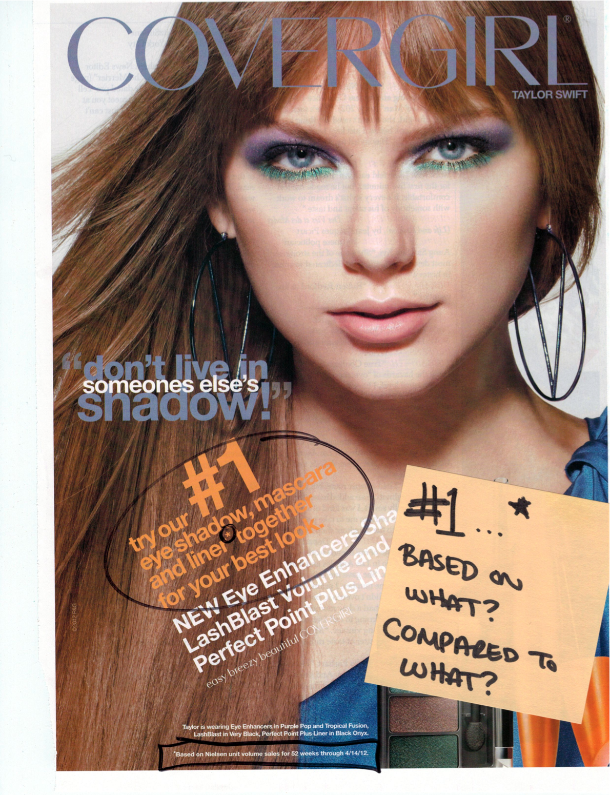 cover girl advertisement Cover girl print ad analysis 1007k11060 date: 17 september 2012 in this paper i will focus on studying a specific print advertisement that i have choose which is the.