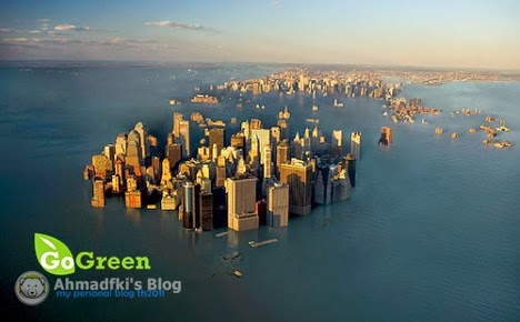 Akibat Global Warming 10 Kota ini akan tenggelam