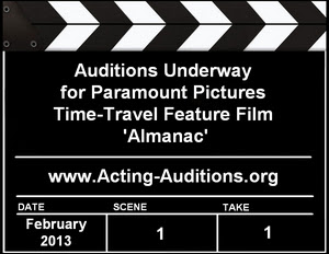 Paramount Pictures Almanac Auditions Casting Calls
