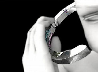 Futuristic Bracelet Phone
