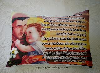 Travesseiro Santo Antonio