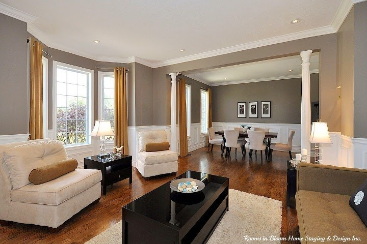 Living Room Dining Room Combo Traditional Living Room Living And ...