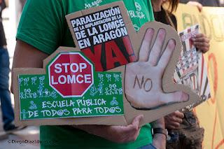 FAPAR valora la suspensión de la LOMCE en Aragón