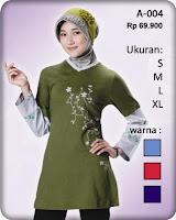 Busana Muslim Kaos