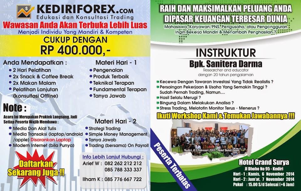 Brosur Trading Forex Online - Kediri
