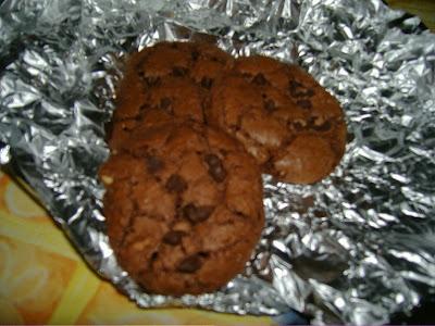biscotti triplo cioccolato