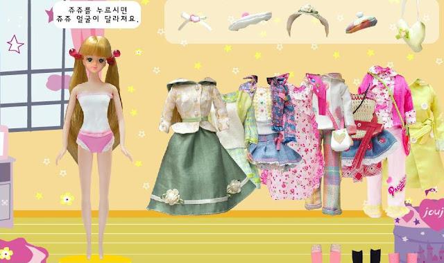 Old Barbie Games