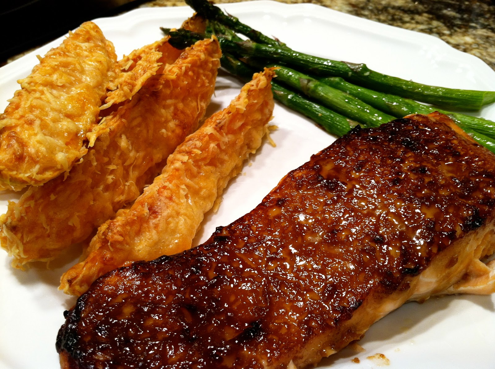 ... From Alice's Kitchen: Salmon with Brown Sugar and Mustard Glaze