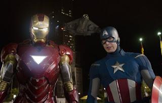 Os Vingadores - Homem de Ferro e Capitão América