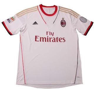 Leaked Jersey Grade Ori AC Milan Away 13/14