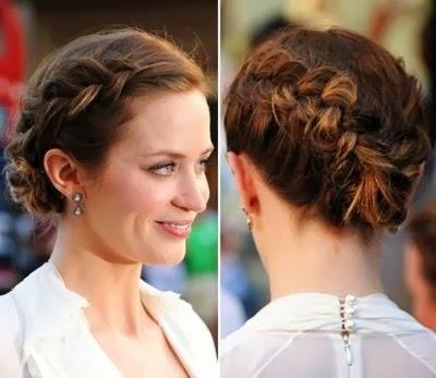 Penteado - Trança em cabelos curtos