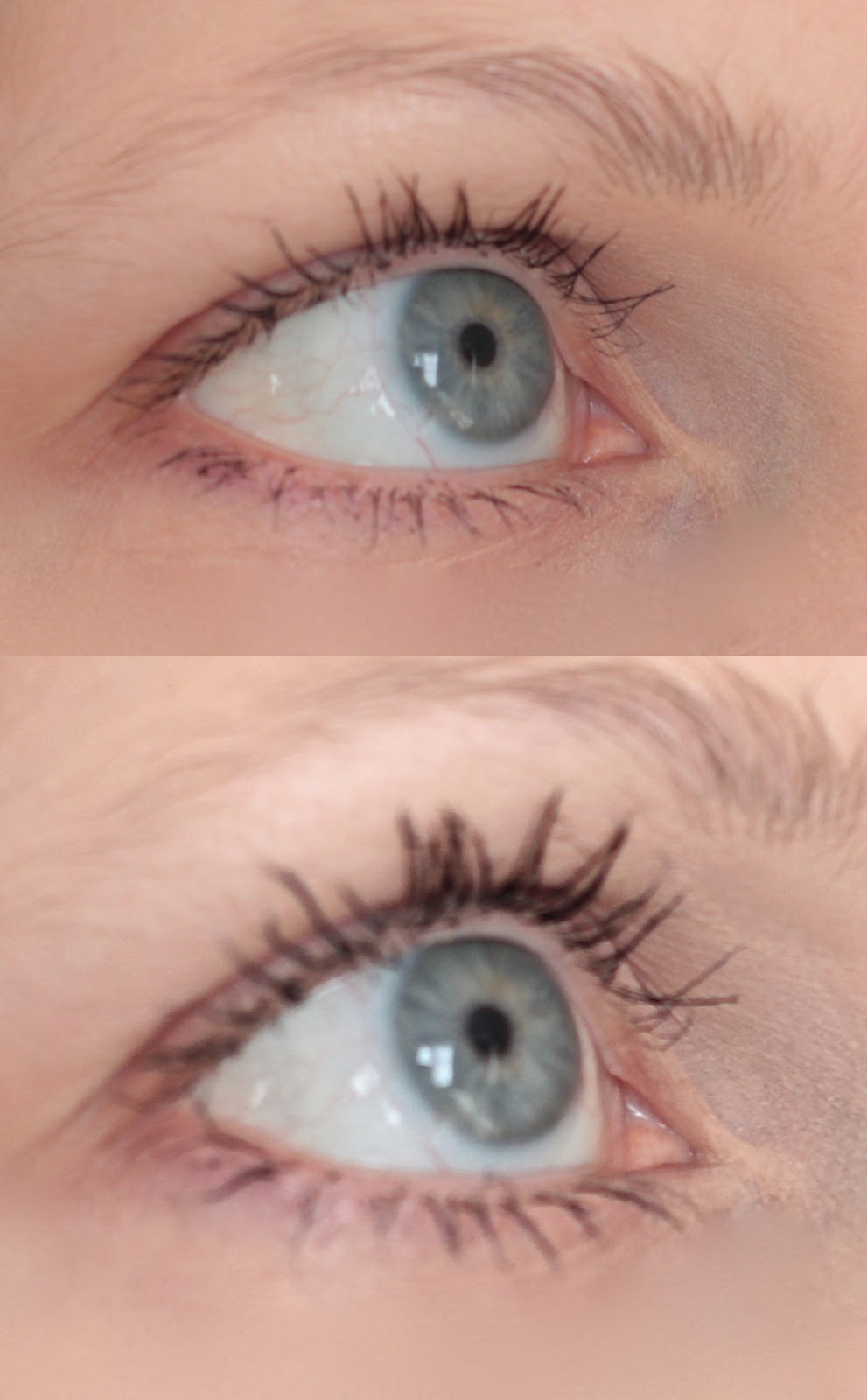 Before and After Younique 3D Fiber Lashes