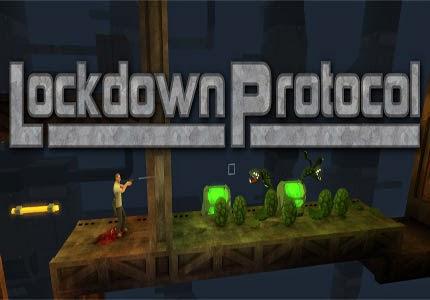 غلاف لعبة Lockdown Protocol
