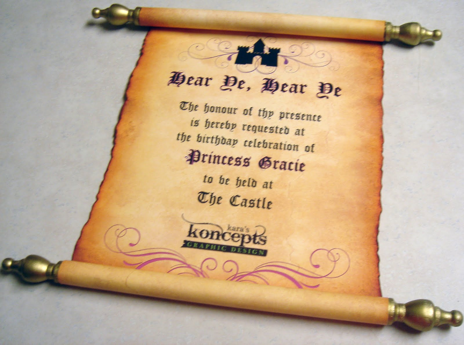 Castle Themed Wedding Invitations was luxury invitation example