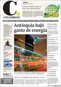 04/04/2020   COLOMBIA  UNA  PRIMERA PÁGINA DE LA PRENSA