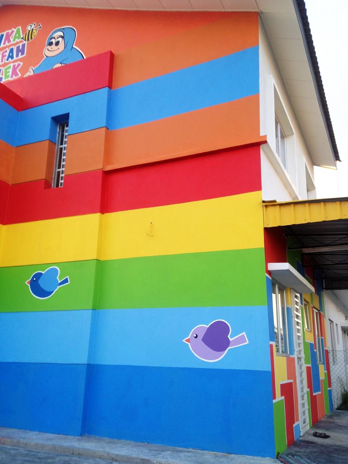 Warna arts mural tadika khalifah intelek for Mural untuk taska