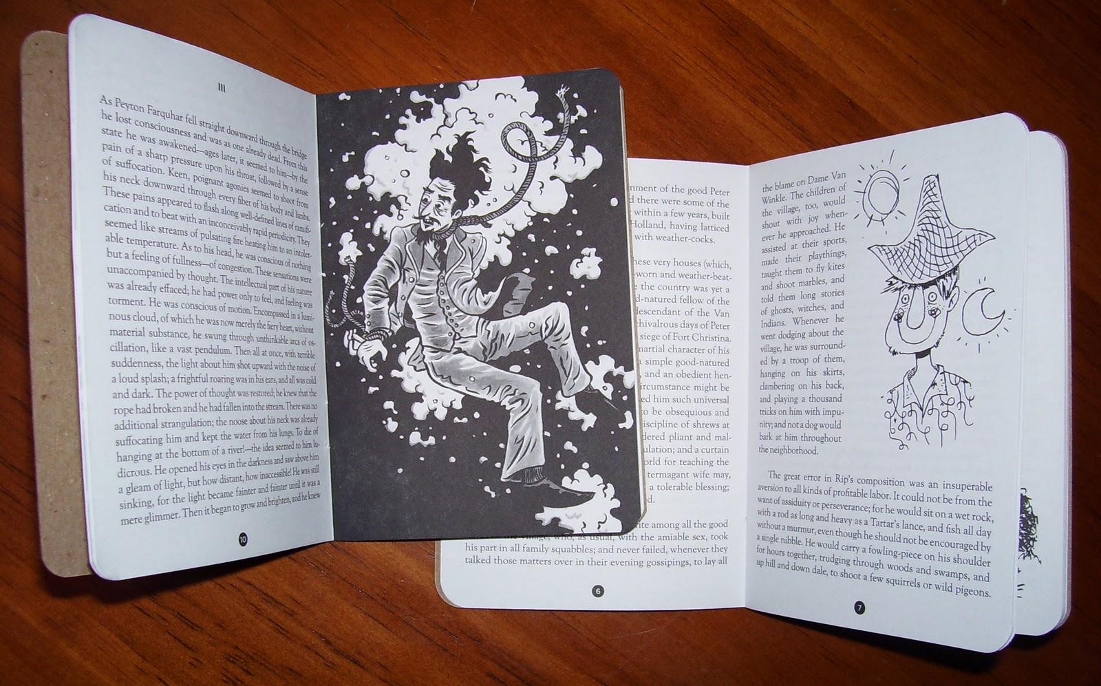 Ambrose Bierce, Illustrated By Francois Vigneault; Washington Irving  Illustrated By Bwana Spoons