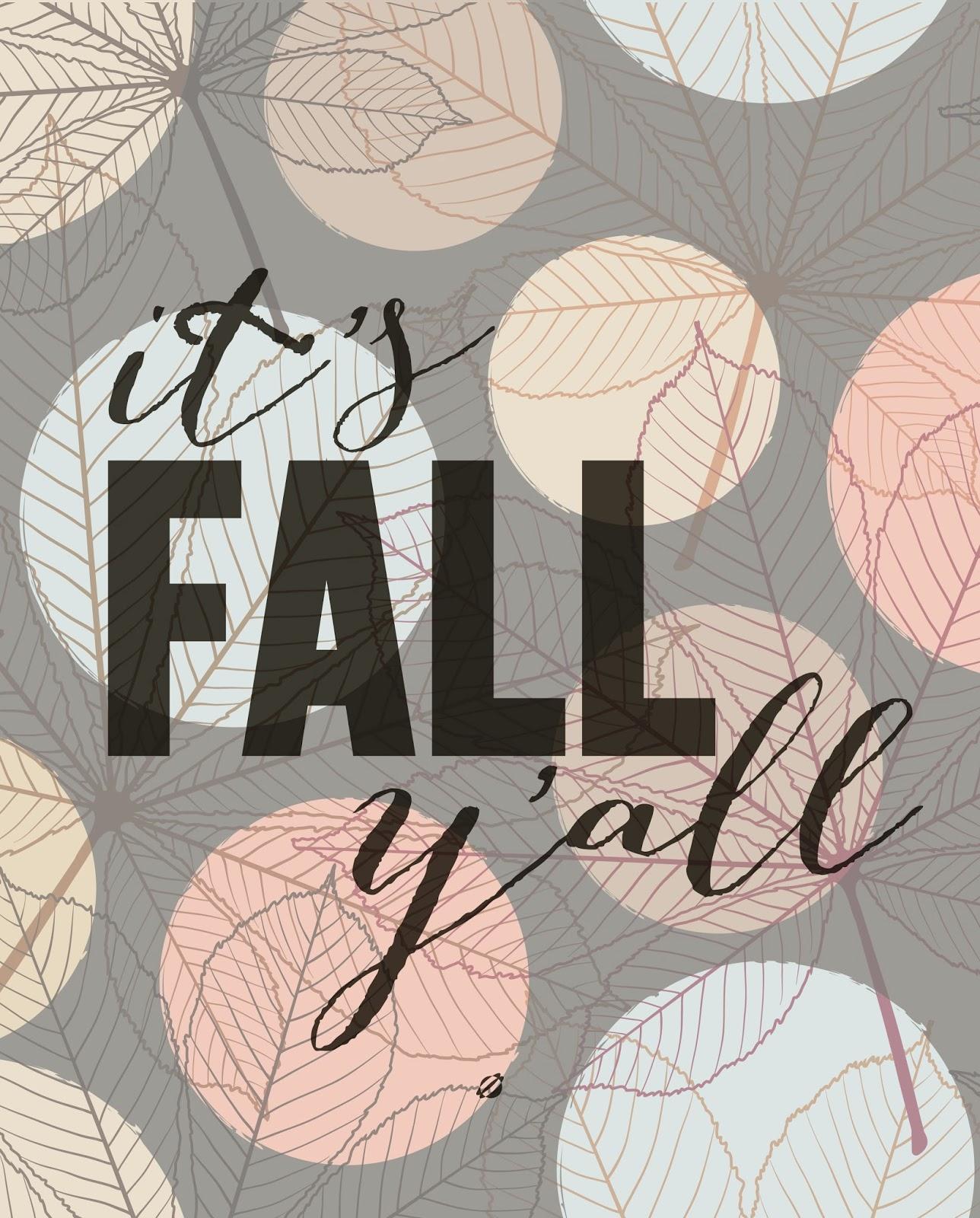 It's Fall Y'all LostBumblebee 2013